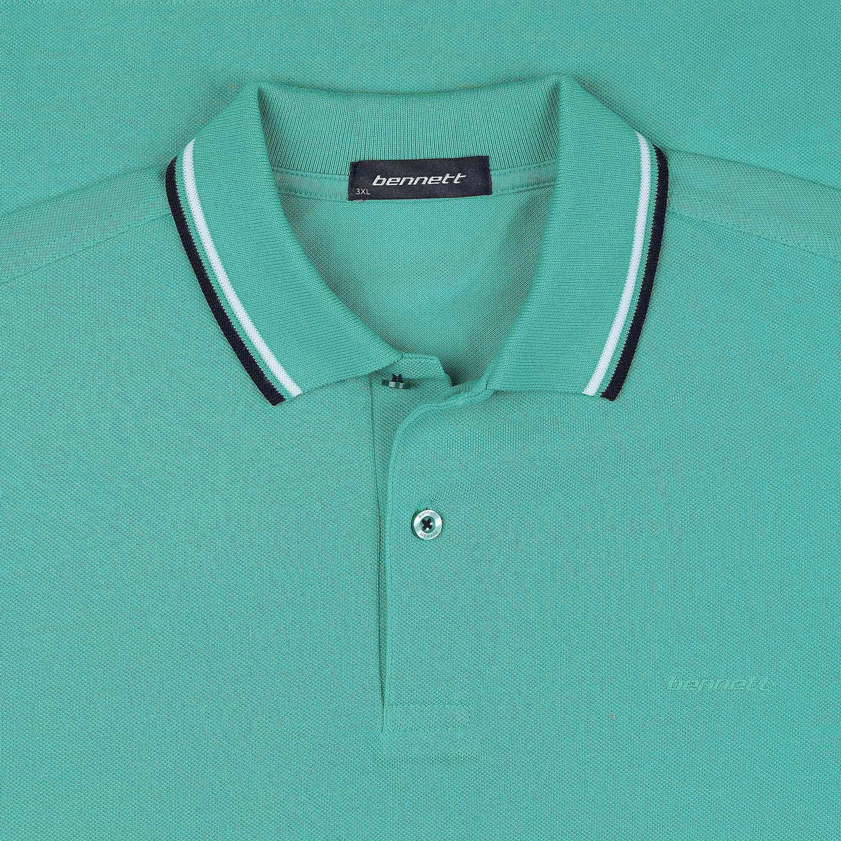 "Bennett Cotton ""Tipped"" Polo"