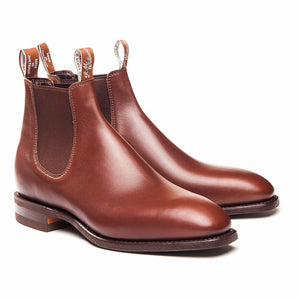 RM Williams Classic Craftsman Boots Dark Tan