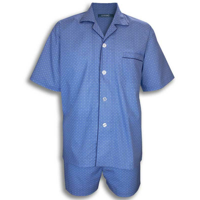 LYNX A315050 Light weight Short PJs Set