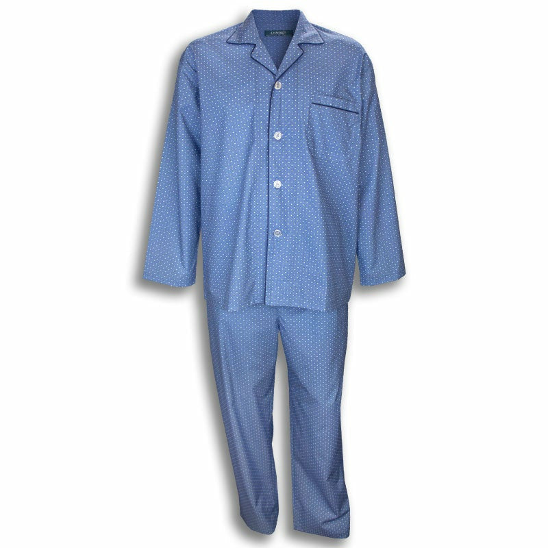 LYNX A315050 Light Weight Poly Cotton Long PJs Set