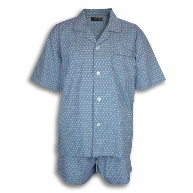 LYNX Cotton Rich Short PJs Set