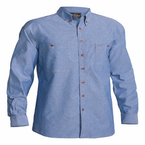 Bisley Chambray Long Sleeve Shirt