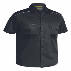Bisley Flex & Move™ Mechanical Stretch Shirt Short Sleeve