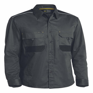 Bisley Flex & Move Mechanical Stretch Shirt Long Sleeve