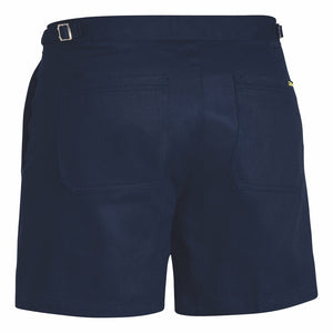 Bisley Cotton Drill Side Tab Shorts
