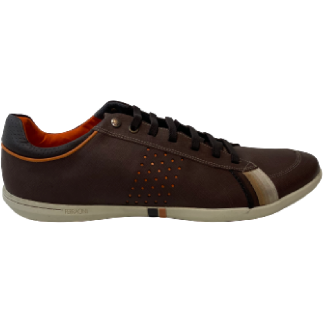 Ferracini Square Casual Shoes in Brown