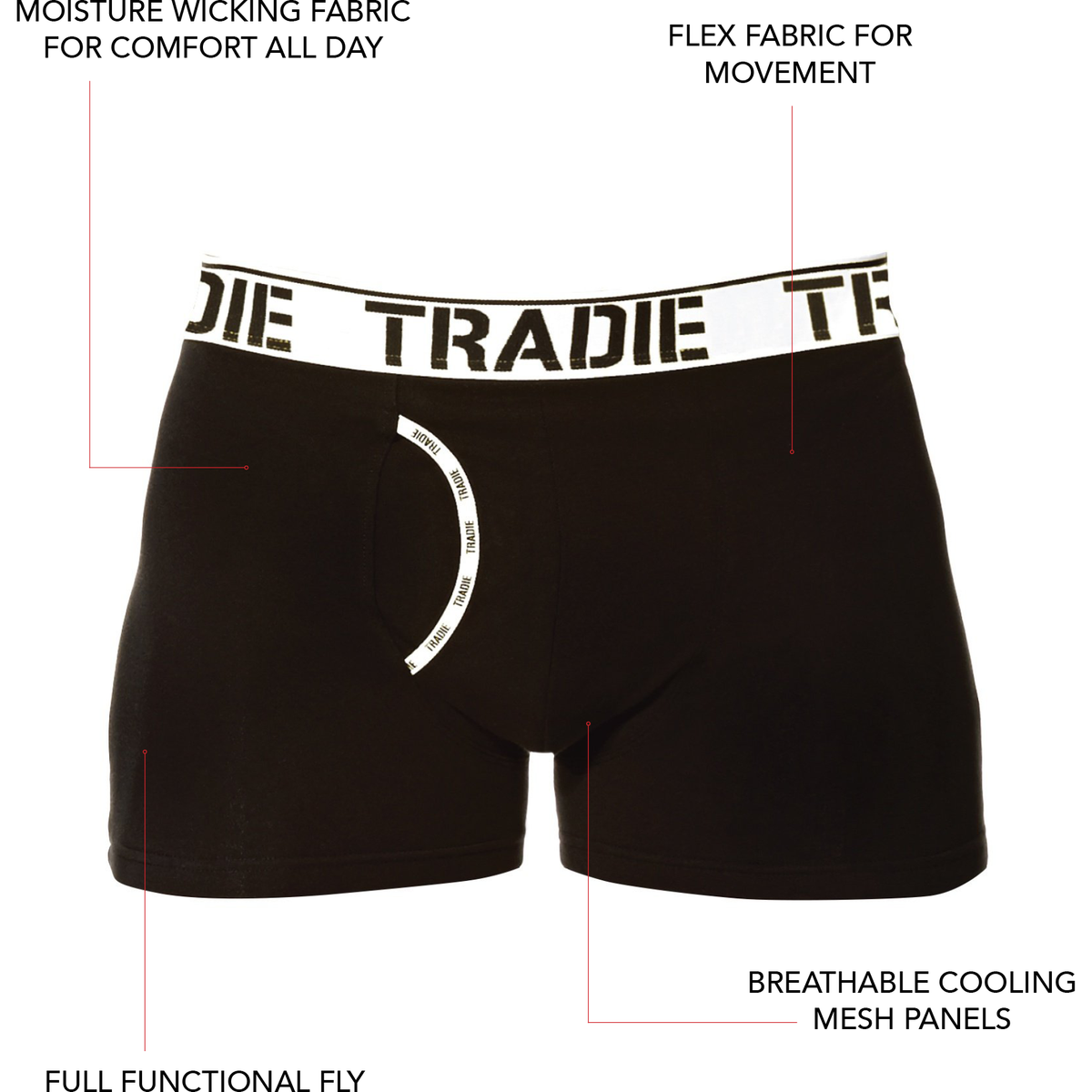 Tradies Big Fella Man Front Trunks