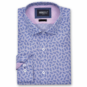Brooksfield Paisley Print Shirt