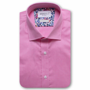 Brooksfield Micro Texture Dress Shirt