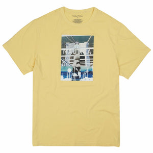 Nautica Palm Tree Yellow T-Shirt