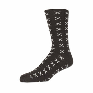Lafitte Premium Wool Sock in Chocolate - Ron Bennett Big Men's Clothing