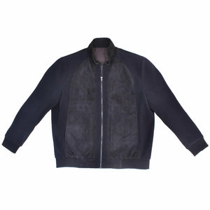 Bennett Heritage Panel Jacket in Navy