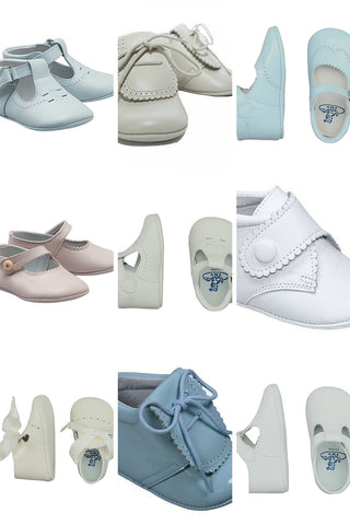 leather baby shoes spain TNY by tinny shoes