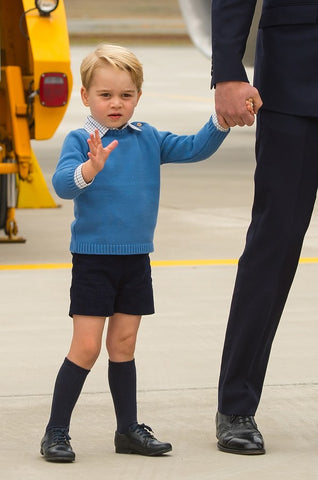 prince george navy socks