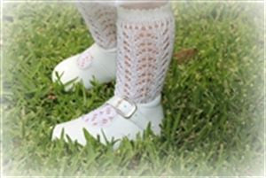 Long Open Lace Socks - Classical Child  - 3