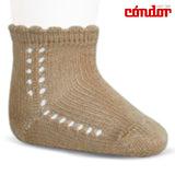 Short Lace Socks Tan | Condor