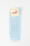 Baby Blue Long Lace Socks | Condor