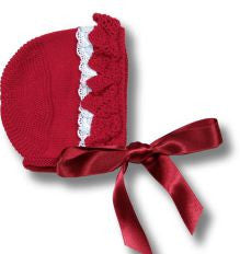 Sweet Baby Knitted Bonnet - Classical Child  - 1
