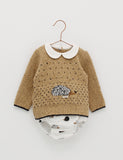 Hedgehog Wool Sweater Set | Foque