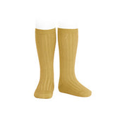 Ribbed Socks Mustard - Classical Child  - 2