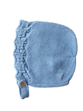 *Last One Left* Galera Baby Bonnet French Blue 24 months
