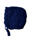 *Last One Left* Galera Baby Bonnet Navy 36 months