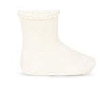 Plain Sock with Detail Cuff - Classical Child  - 2