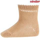 Perle Socks with Openwork Cuff - Classical Child  - 2