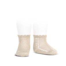 Linen Short Lace Socks - Classical Child  - 2