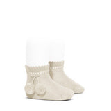 Pom Pom Short Socks - Classical Child  - 3