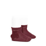 Pom Pom Short Socks - Classical Child  - 10