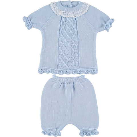 Lattice Spanish Knitwear Set