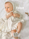 Cream Cashmere Baby Bonnet | Foque