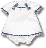 Dress, Bloomers & Bonnet Set - Classical Child  - 3