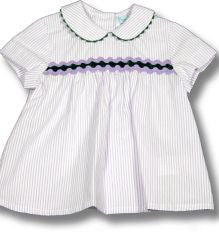 Boys Striped Shirt & Plain Shorts Set - Classical Child  - 1