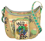 Oilily Sand Playing Cards Shoulder Bag - Classical Child  - 2