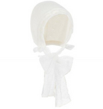 Cream Ceremony Bonnet | Foque