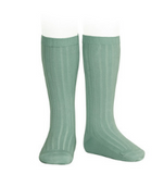 Ribbed Socks Jade Green | Condor