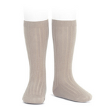 Stone Ribbed Socks | Condor