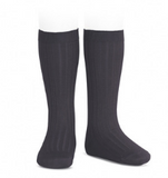 Carbon Ribbed Socks | Condor