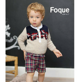 Hojas Sweater & Shorts Set