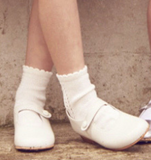 Short Lace Socks Cream | Condor