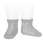 Perle Socks with Openwork Detail