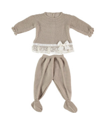 Linen Spanish Knitwear Set