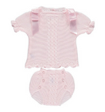 Summer Baby Knitwear Set
