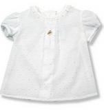 Foque White Short Sleeve Blouse