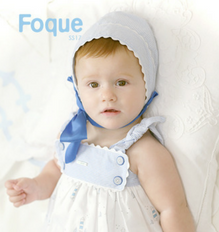 Foque Blue Striped Bonnet