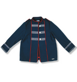 Navy Nautical Jacket | Foque