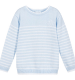 Striped Tricot Sweater