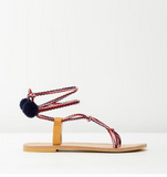 Little Girls Ropie Boho Sandal | Classical Child